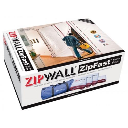 ZipWall ZipFast Reusable Barrier Panels Multi Pack (ZFMP)