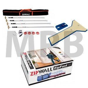 ZipWall Commericial Kit (SLP4 + ZFMP + EPH1)