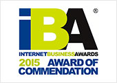 Internet Business Awards 2015 - Award of Commendation
