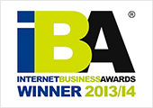 Internet Business Awards 2013/14 - Winner